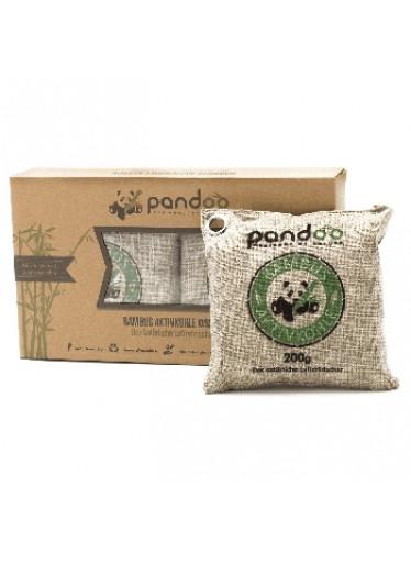 Pandoo Přírodní bambusový čistič vzduchu s aktivním uhlím 2x 200 g