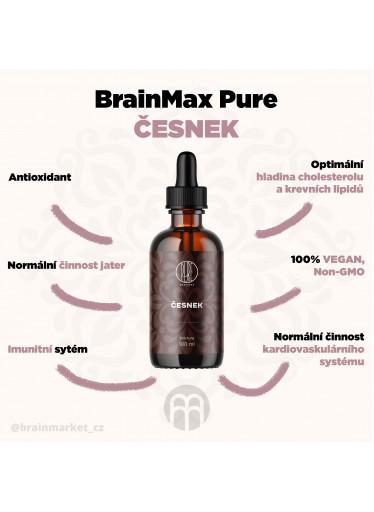 BrainMax Pure Česnek tinktura, 100 ml