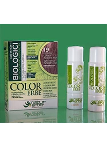 Color Erbe Biologici No.19 Světle mahagonová blond