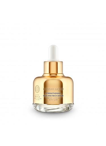 Caviar Gold Posilující sérum pro obličej a dekolt, 30 ml