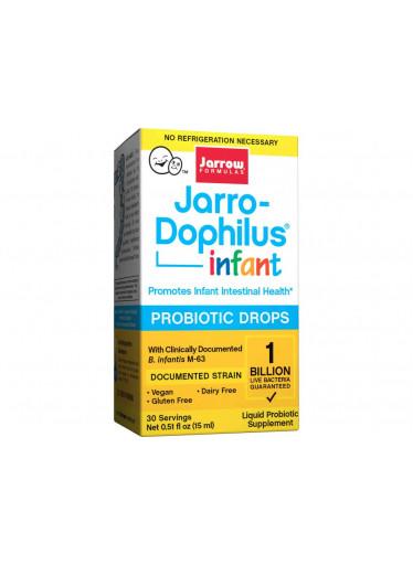 Jarrow Jarro-Dophilus Infant (probiotické kapky), 1 miliarda, 15 ml