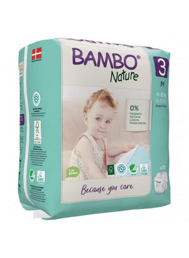 ABENA Bambo Nature 3 M pro 4-8kg 28ks