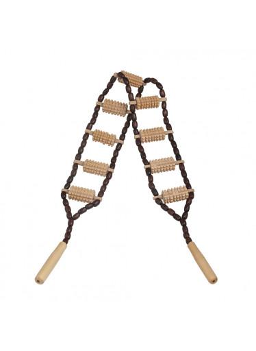 ČistéDřevo Dřevěné masážní lano