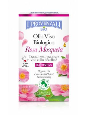 I Provenzali BIO Repair pleťový olej růže 30ml