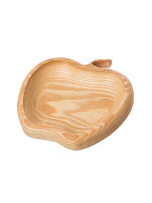 ČistéDřevo Dřevěná servírovací miska - jablko