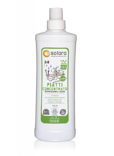 Officina Naturae Extra koncentrovaný gel na nádobí - bez parfemace (1 l) - úsporný díky vysoké koncentraci