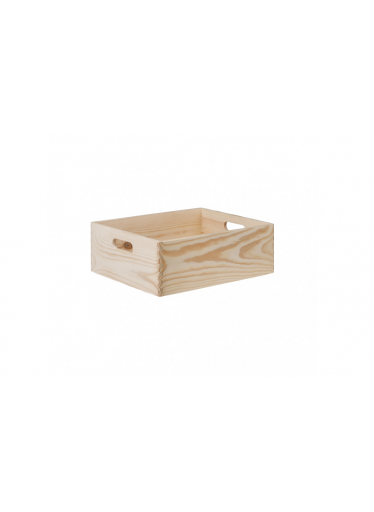ČistéDřevo Dřevěný box 40X30X14 CM