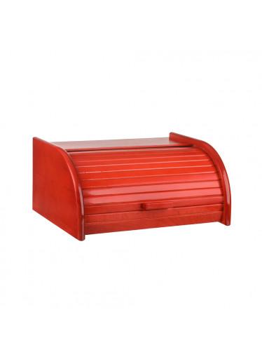 ČistéDřevo Chlebník barevný - červený