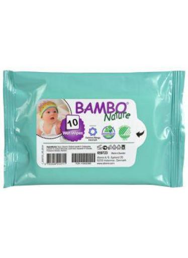 Bambo Nature eko vlhčené ubrousky 10ks