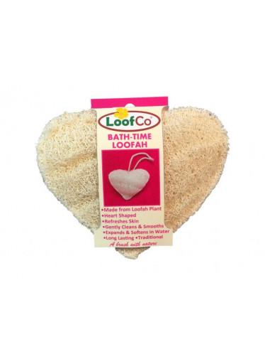 LoofCo Tělová houba ve tvaru srdce