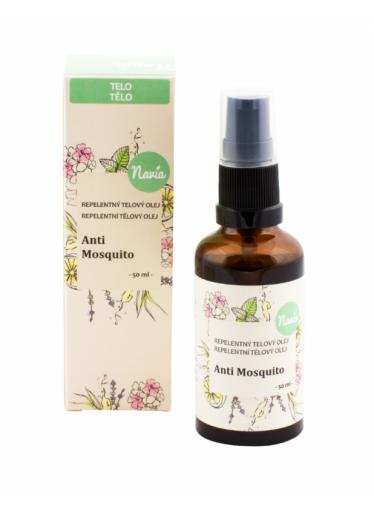 Navia Repelentní tělový olej Anti Mosquito BIO (50 ml) - působí proti komárům a klíšťatům