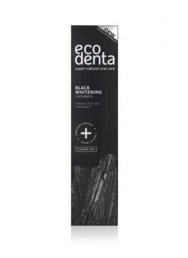 Černá bělící zubní pasta Ecodenta 100 ml