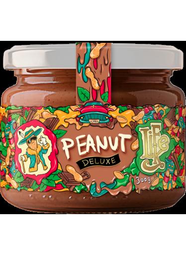 LifeLike arašídový krém DeLuxe (čokoláda, skořice) 300g
