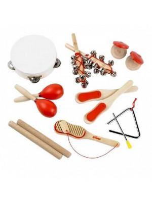 ČistéDřevo Sada dřevěných hudebních nástrojů