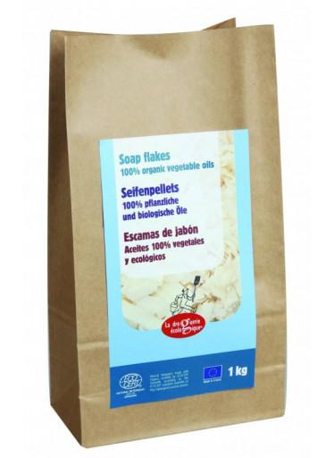 Ecodis Mýdlové vločky BIO (pytel 1 kg) - hypoalergenní a univerzální