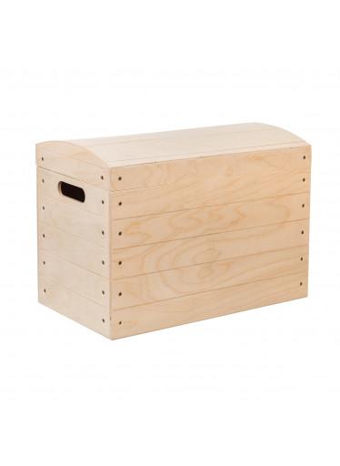 ČistéDřevo Dřevěná truhla X