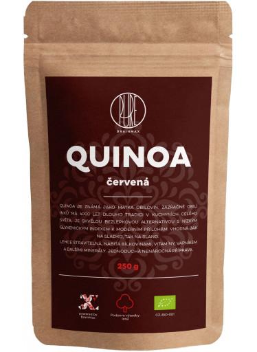 BrainMax Pure Quinoa BIO - červená, 250 g