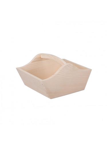 ČistéDřevo Dřevěný košík