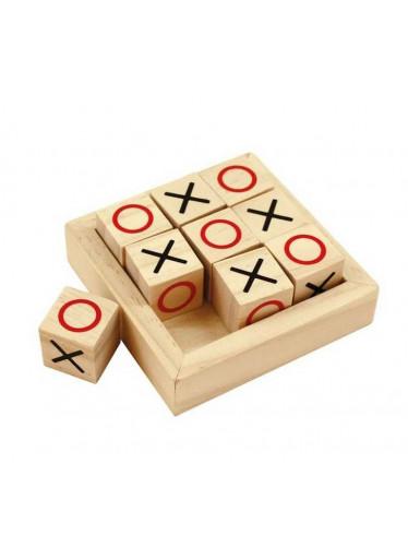 Bigjigs Dřevěné piškvorky v kostkách