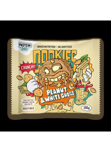 LifeLike Cookies Peanut and white chocolate 100g