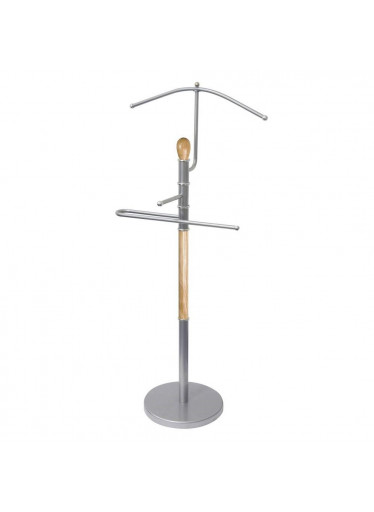 ČistéDřevo Dřevěný němý sluha 107 cm - světlý