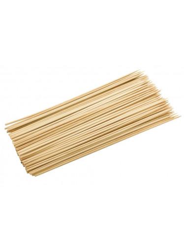 ČistéDřevo Dřevěné špejle 30 cm hrocené - 100 ks