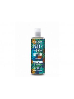 Faith in Nature - Sprchový gel Kokos, 400 ml