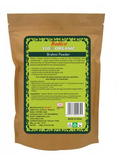 Radico Bylinná kúra BIO (100 g) - Brahmi - bylinka mládí