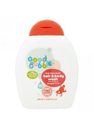 Good Bubble Dětská mycí emulze a šampón Dračí ovoce 250ml