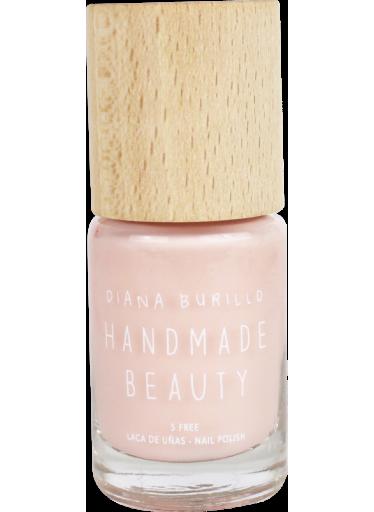 Handmade Beauty Lak na nehty 7-free (11 ml) - Guava - s dřevěným uzávěrem