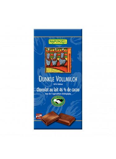 Rapunzel Čokoláda hořko mléčná BIO 100 g