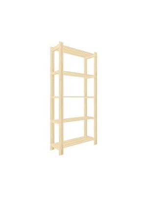 ČistéDřevo Regál dřevěný lm5 170 x 80 x 30 cm