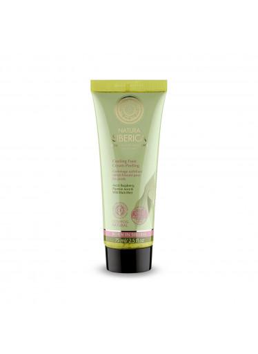 Natural & Organic Chladivý peelingový krém na nohy, 75 ml