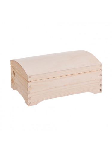 ČistéDřevo Dřevěná truhla VII
