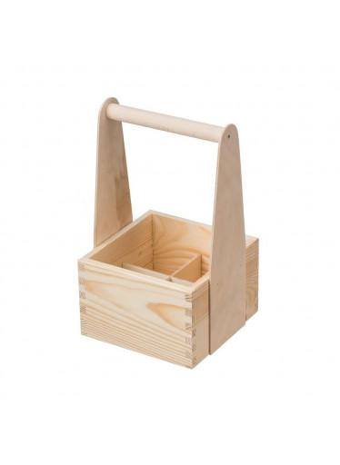 ČistéDřevo Dřevěný nosič XII