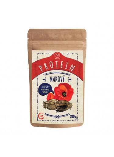 NATU Makový protein RAW 200 g