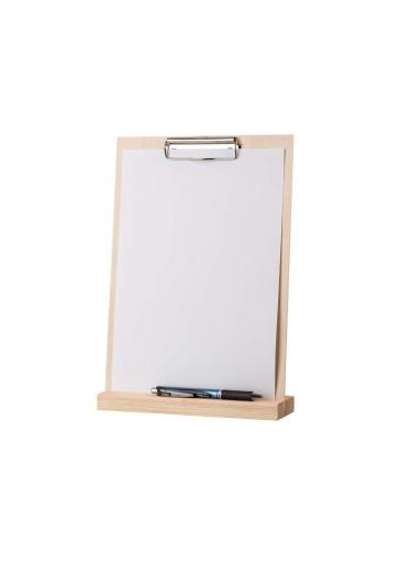 ČistéDřevo Dřevěný stojan na menu A4