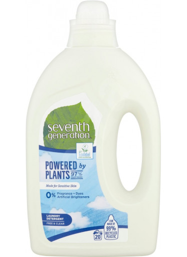 Seventh Generation prací gel Free & Clear, 20PD