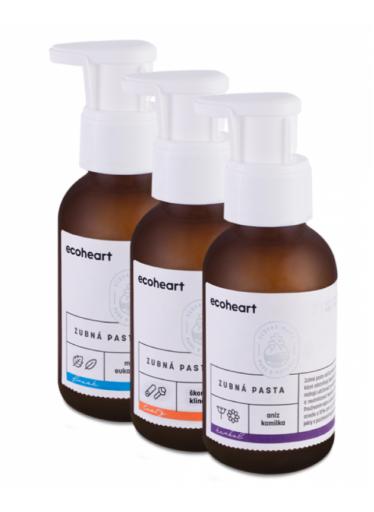 Ecoheart Zubní pasta s anýzem a slaměnkou Herbal (100 ml)