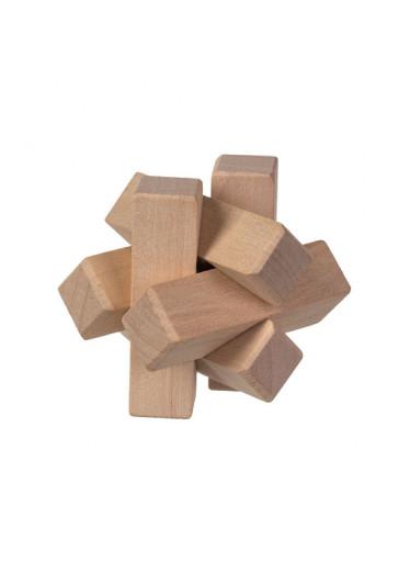 ČistéDřevo Dřevěný hlavolam mini II
