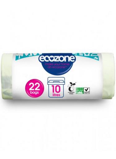 Ecozone Kompostovatelný sáček 10 l - 22 ks na roli