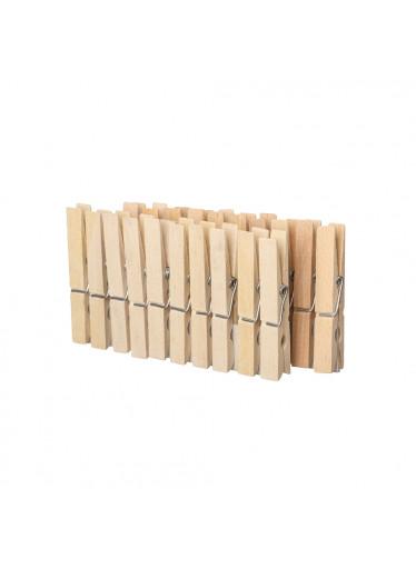 ČistéDřevo Dřevěné přírodní kolíčky - 20 ks