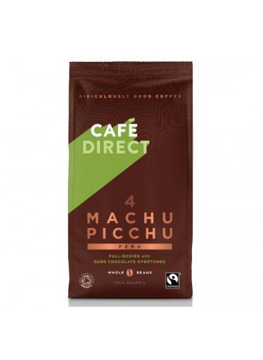 Cafédirect - BIO Machu Picchu SCA 82 zrnková káva, 227g