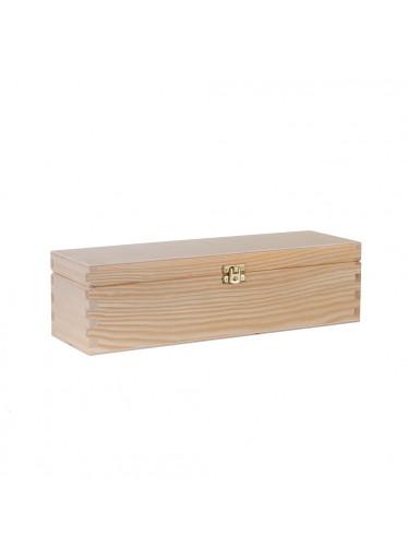 ČistéDřevo Dřevěná krabička IV na víno