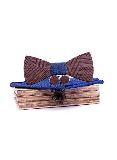 ČistéDřevo Dřevěný motýlek XII