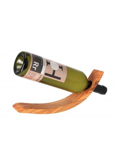 ČistéDřevo Protiváhový stojan na víno z olivového dřeva