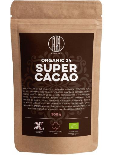 BrainMax Pure Organic 24 Super Cacao, BIO kakao, 1kg
