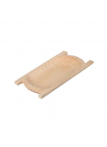 ČistéDřevo Dřevěné dlabané korýtko 55 cm