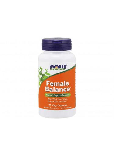 NOW Female Balance (ženské zdraví), 90 rostlinných kapslí