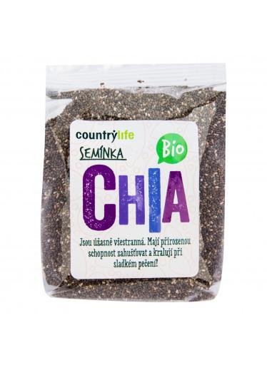 Country Life Chia semínka 300g BIO  COUNTRYLIFE